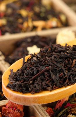 Thé noir au CBD