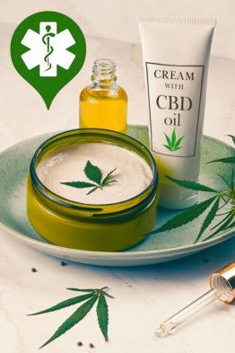 Crème médicale